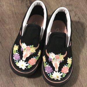 Toddler girl vans size 9